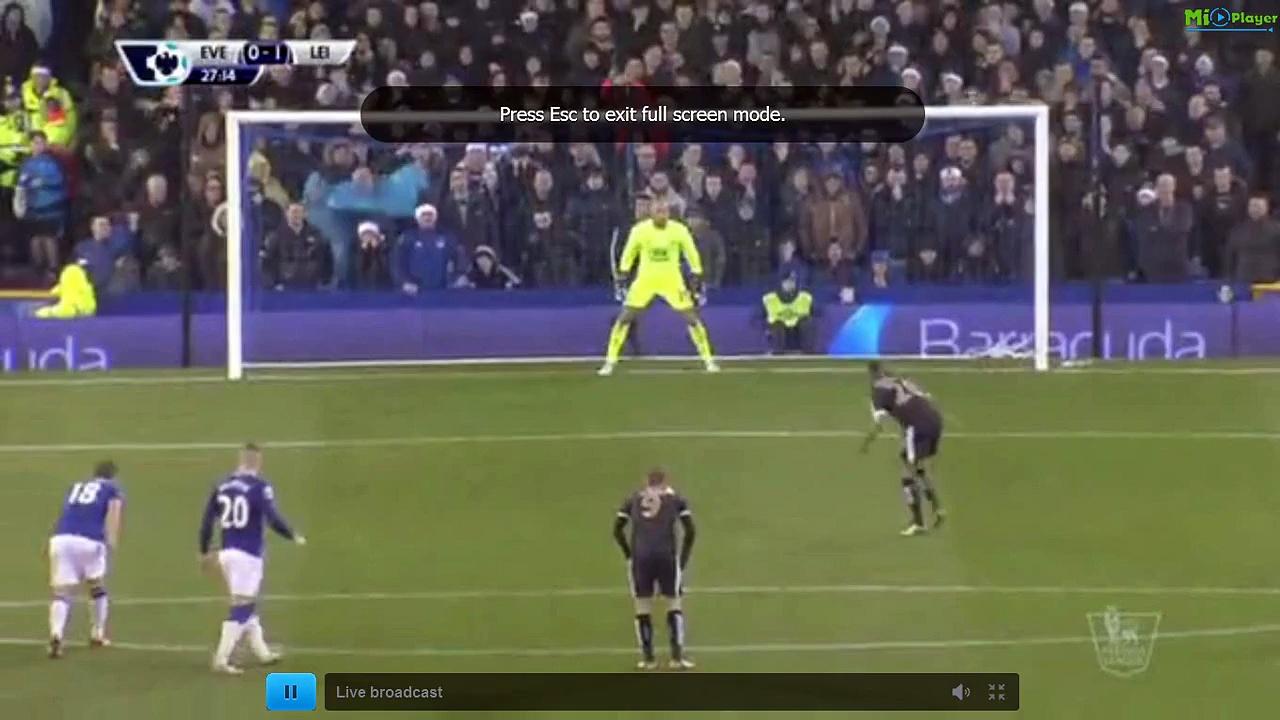 VIDÉO. Le doublé de Mahrez face à Everton
