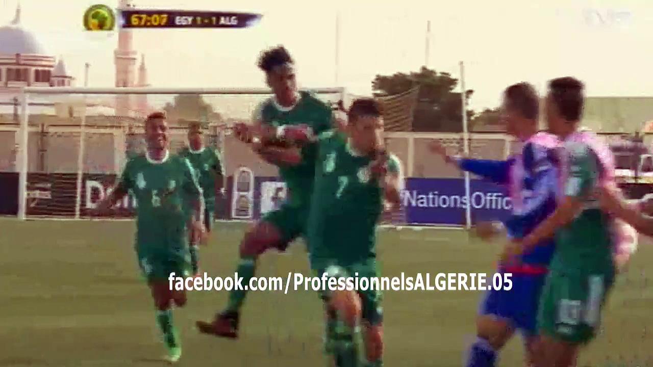 CAN U23: Algérie 1 – 1 Égypte (Vidéo)