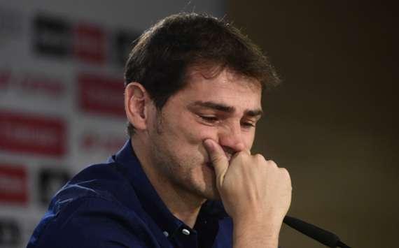VIDÉO. Les larmes de Casillas
