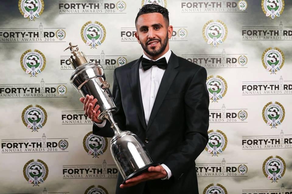 Riyad Mahrez remporte le plus prestigieux titre individuel en Angleterre