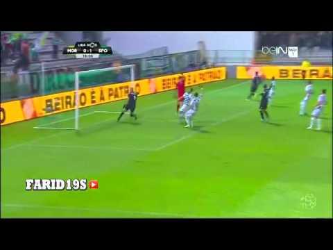 VIDÉO. La 24e réalisation de Slimani en Super Liga