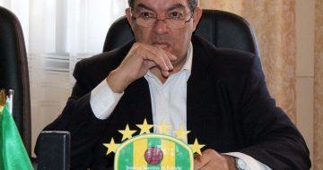 Mohand-Cherif Hannachi, président de la JSK (© Ali Arkam / New Press)