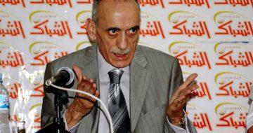 Alger LE  01-06-2008- mahfoud keerbadj prŽsident du CRB. l'invitŽ du forum d'Echibek (photo farouk batiche/ new press)
