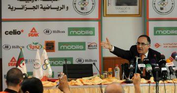 Amar Brahmia, chef de la délégation algérienne aux Jeux olympiques de Rio (© sidali djarboub / NewPress)