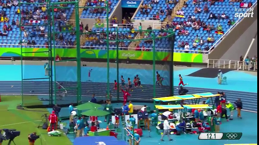 JO – Athlétisme : Taoufik Makhloufi remporte sa première course