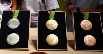 médailles, rio