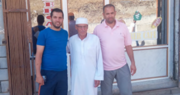 ©TSA de gauche à droite : Adnan, Ami Younes et Kamel