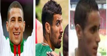 trois athlètes
