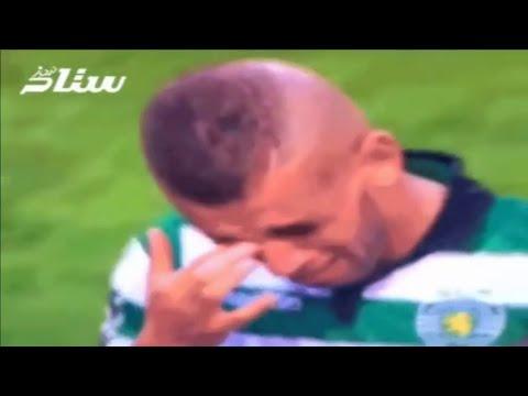 VIDÉO. Les larmes d'Islam Slimani