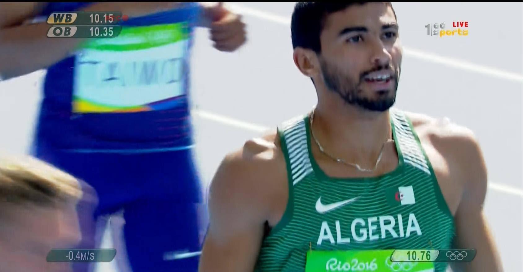 VIDÉO. Rio 2016-Décathlon: Bouraada finit 1er sur 100 mètres