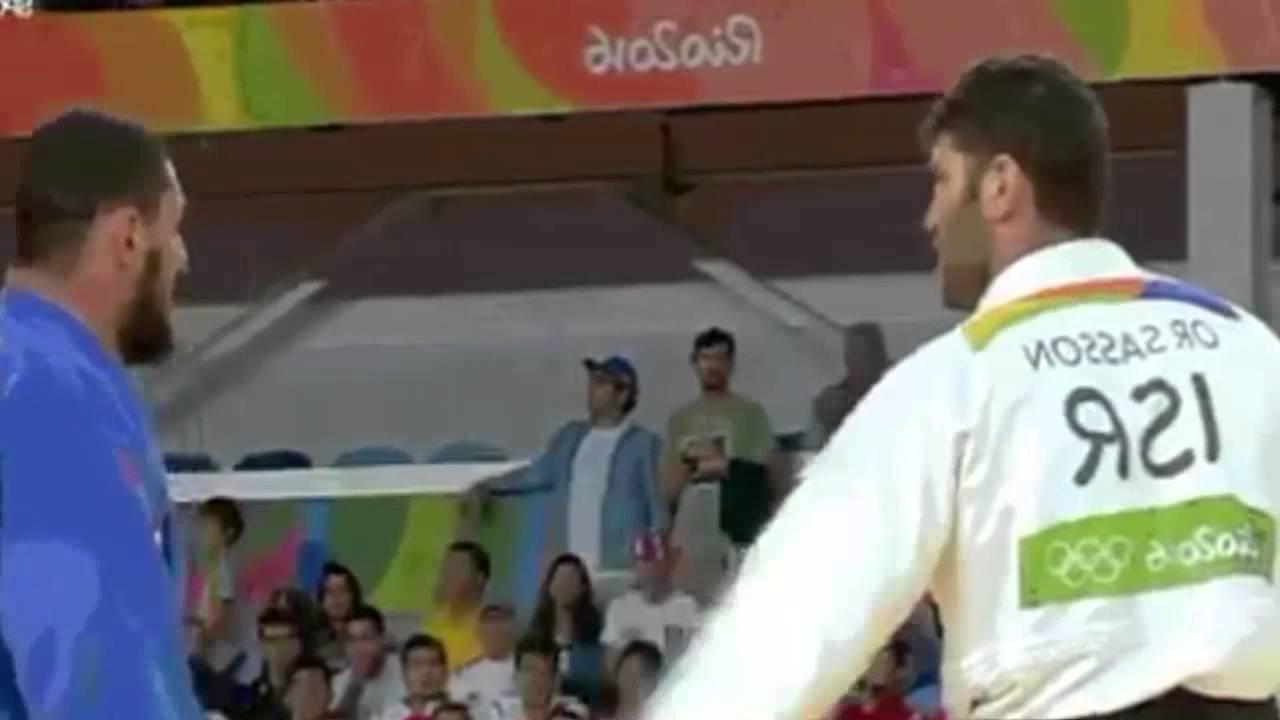 VIDÉO. Un judoka égyptien refuse de serrer la main à un Israélien