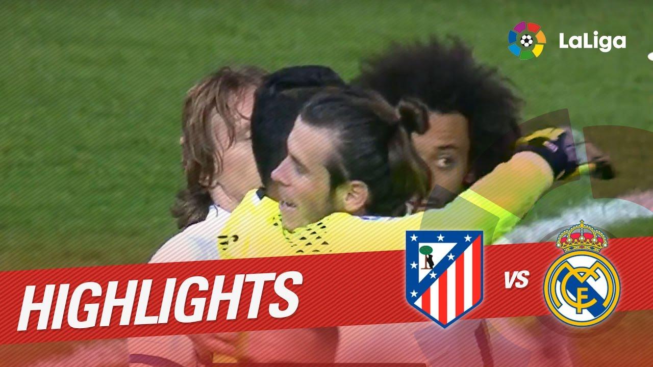 Atlético Madrid – Real Madrid: le triplé de Ronaldo