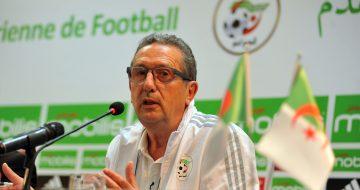 Georges Leekens, entraîneur de l'équipe nationale (Crédits : Toufik Doudou / Newpress ©)