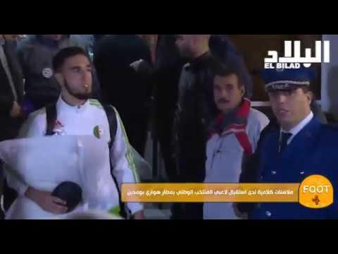 VIDÉO. CAN 2017 : retour tendu des Verts en Algérie