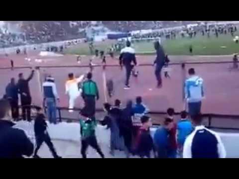 VIDÉO. Des actes de violence au stade de Bejaia